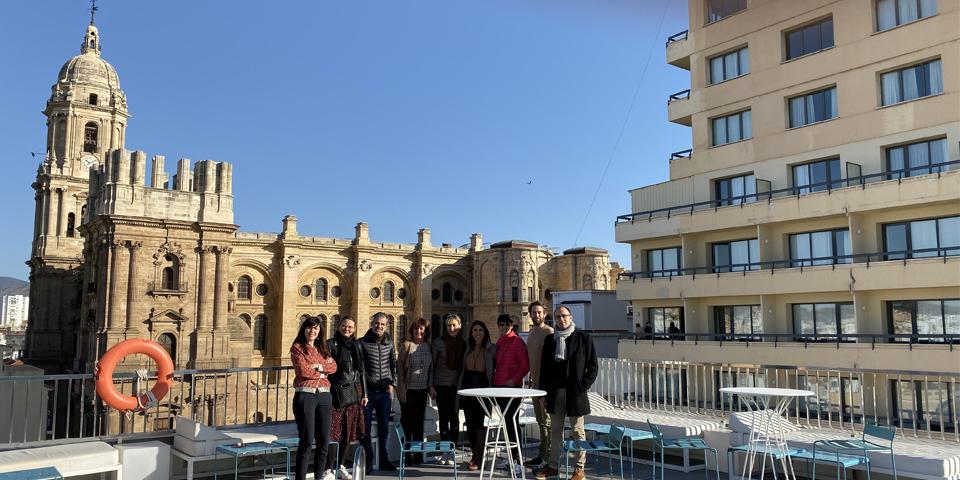 Hotel Molina Lario con Vistas a la Catedral